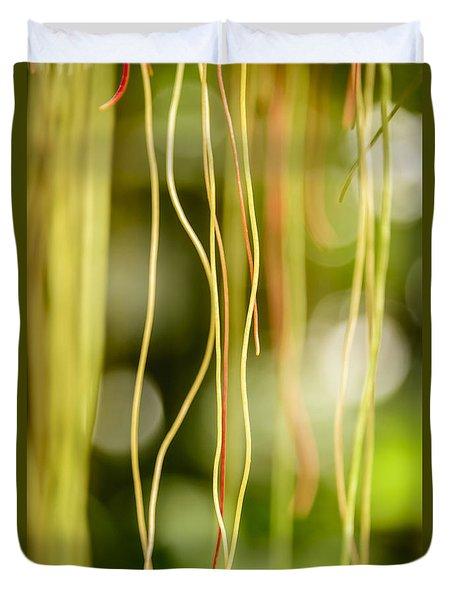Nature's Strings Duvet Cover