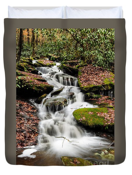 Natures Surprise Duvet Cover by Debbie Green