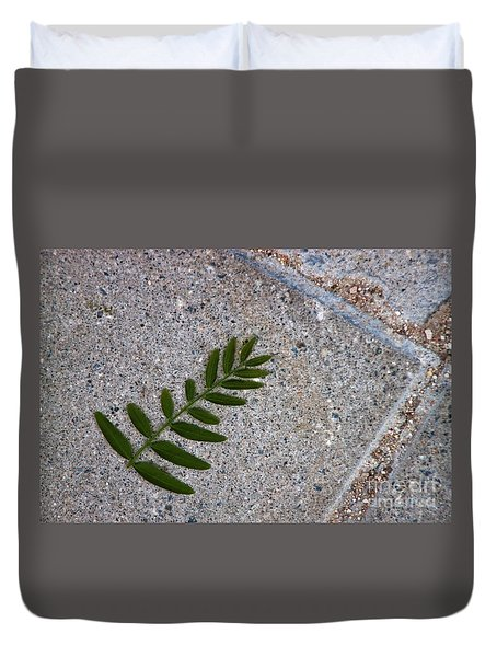 Nature's Trace Duvet Cover