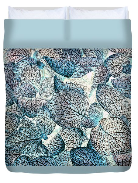 Nature's Tracery Duvet Cover by Wayne Sherriff