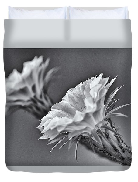 Nature's Trumpets Duvet Cover