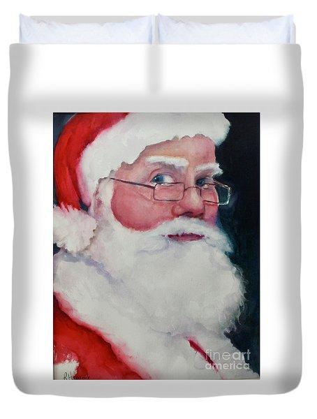 Naughty Or Nice ? Santa 2016 Duvet Cover