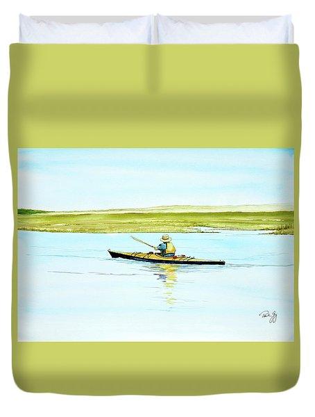 Nauset Kayaker Duvet Cover