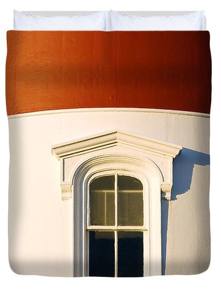 Nauset Light Detail Duvet Cover by John Greim