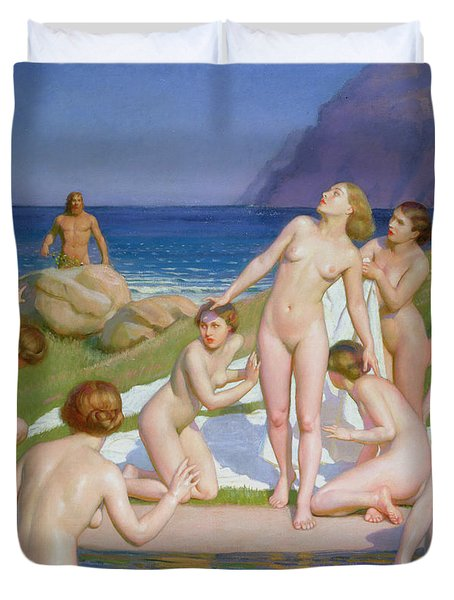 Nausicaa Duvet Cover by William McGregor Paxton