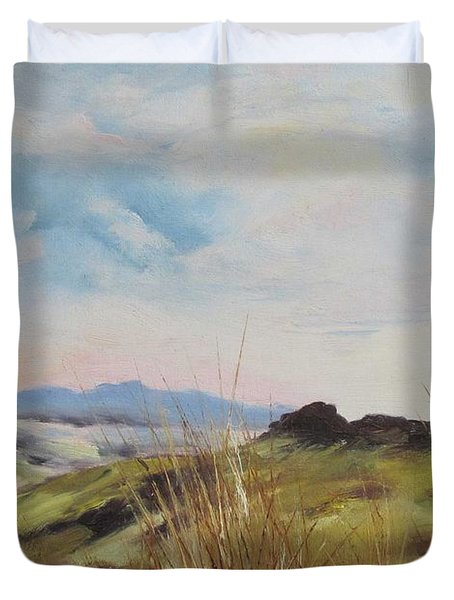 Nausori Highlands Of Fiji Duvet Cover
