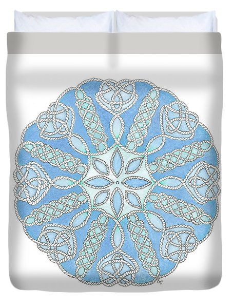 Nautical Mandala 2 Duvet Cover
