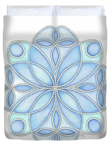 Nautical Mandala 4 Duvet Cover