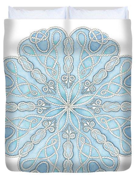 Nautical Mandala Duvet Cover