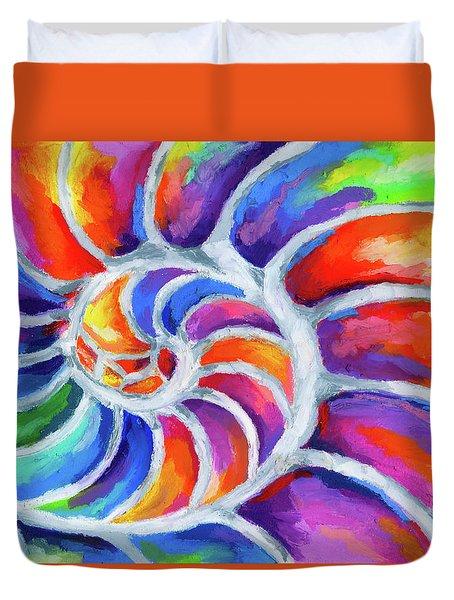 Nautilus Curves Duvet Cover