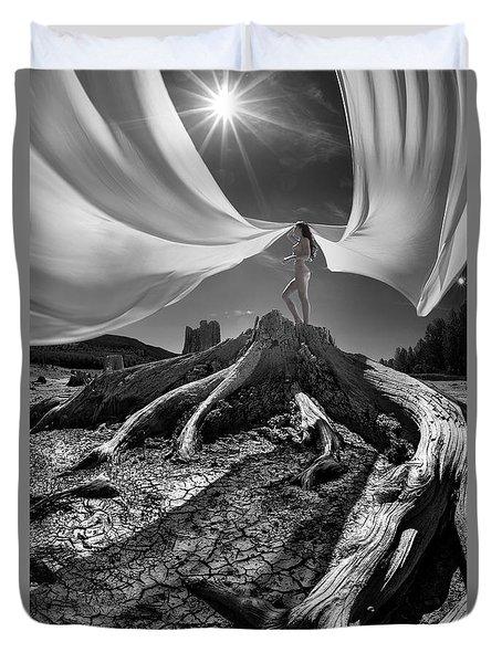 Nautilus Duvet Cover by Dario Infini
