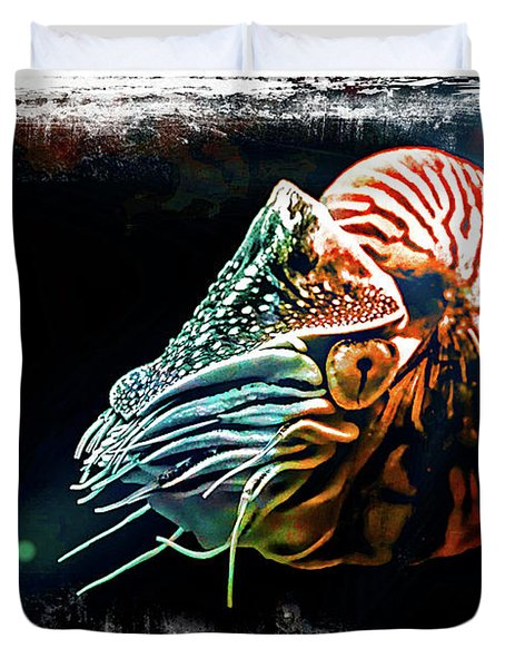 Nautilus Dreams Duvet Cover