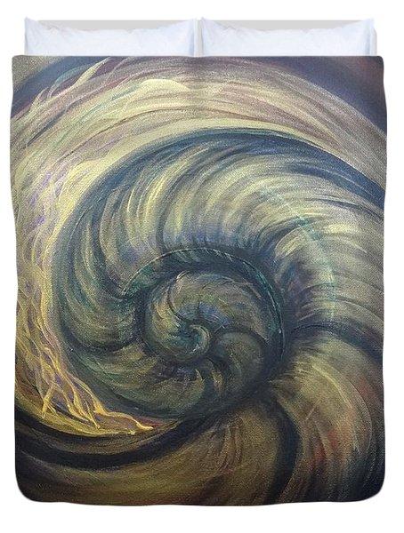 Nautilus Spiral Duvet Cover
