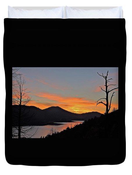 Navaho Lake Duvet Cover