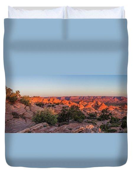 Navajo Land Morning Splendor Duvet Cover