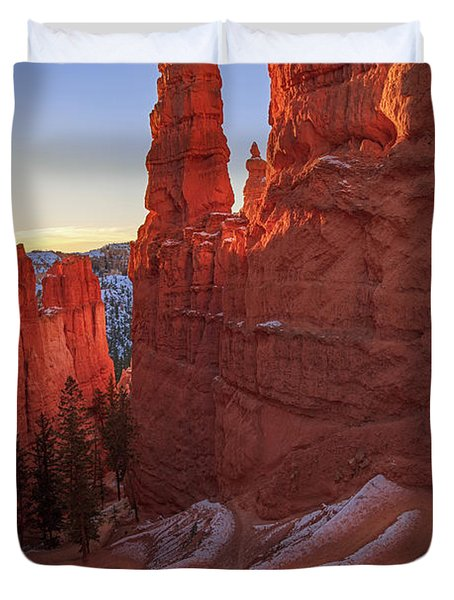 Navajo Loop Duvet Cover by Edgars Erglis