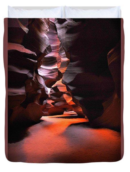 Navajo Magic Antelope Canyon Duvet Cover
