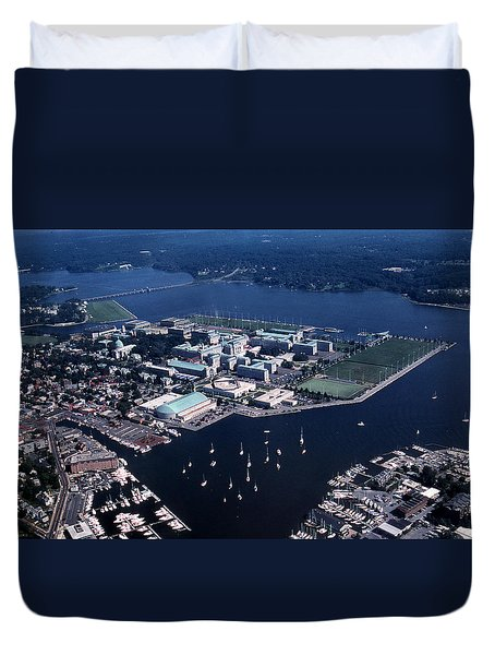 Naval Academy Duvet Cover
