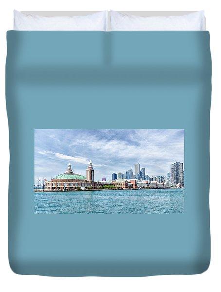 Navy Pier - Chicago Duvet Cover