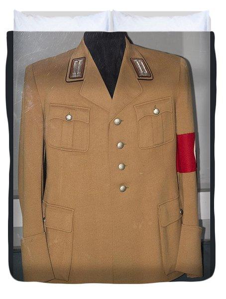 Nazi Uniform Duvet Cover