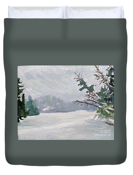 Near Canada Duvet Cover