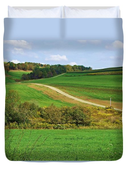 Near Horizons Duvet Cover