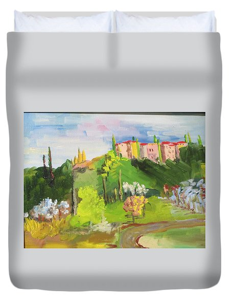 Near Tuscany Duvet Cover