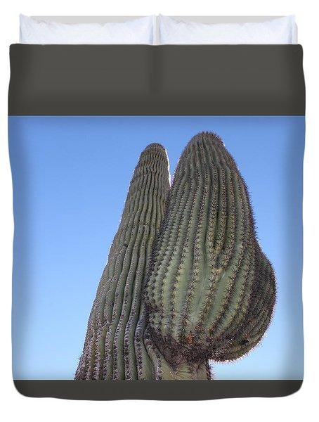 Wickenburg Saguaro  Duvet Cover