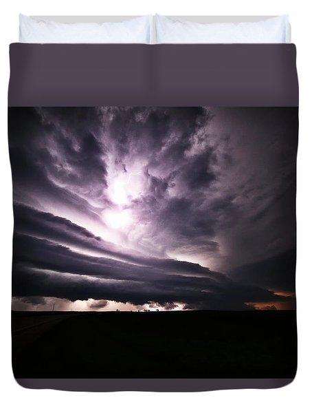 Nebraska Beast Duvet Cover