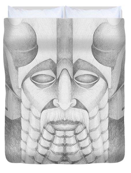 Nebuchadezzar Duvet Cover