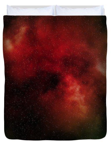 Nebula Duvet Cover by Michal Boubin