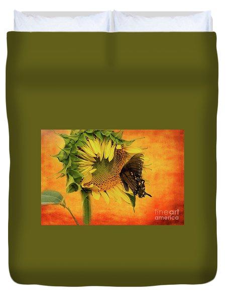 Nectar Time Duvet Cover by Geraldine DeBoer
