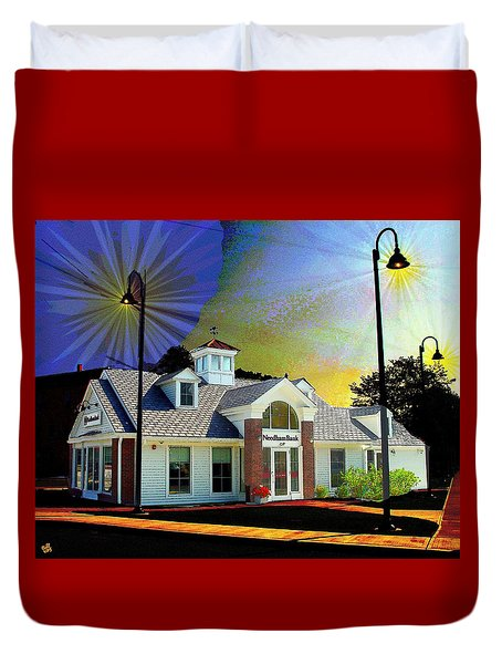 Needham Bank Ashland Ma Duvet Cover