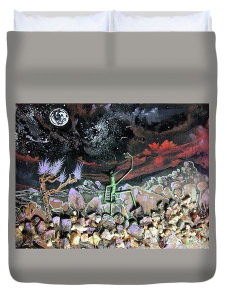 Haystack Needle Duvet Cover