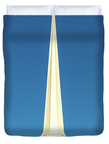 Needle-shaped Steeple Duvet Cover