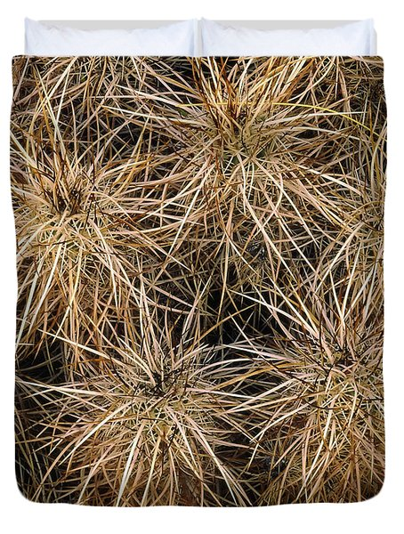 Needles And Hay Stacks Duvet Cover