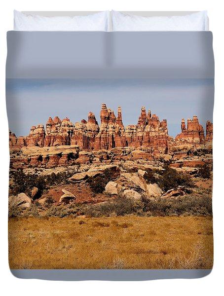 Needles At Canyonlands Duvet Cover