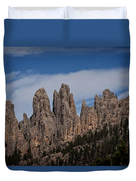 Needles, North Dakota Duvet Cover