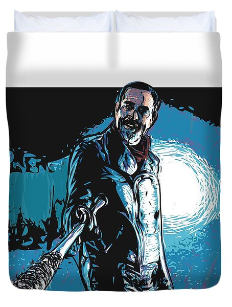 Negan Duvet Cover