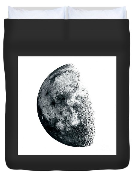 Negative Moon Duvet Cover