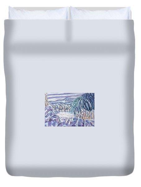 Negua Duvet Cover