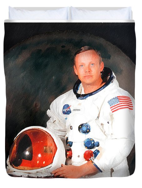 Neil Armstrong Duvet Cover