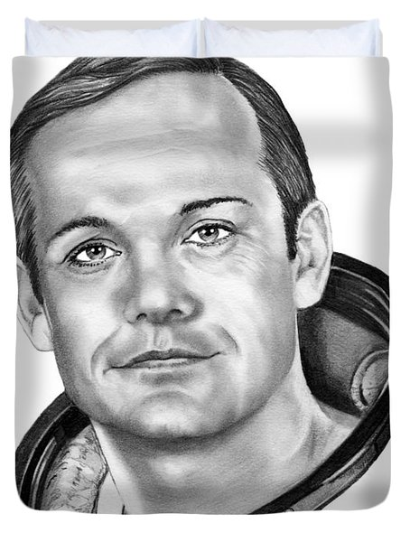 Neil Armstrong Duvet Cover by Murphy Elliott