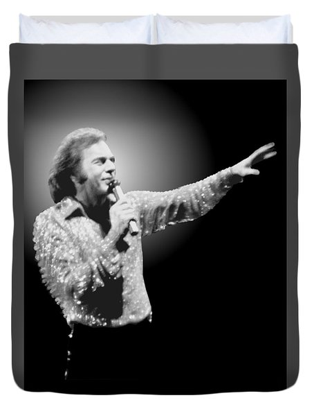 Neil Diamond Reaching Out Duvet Cover