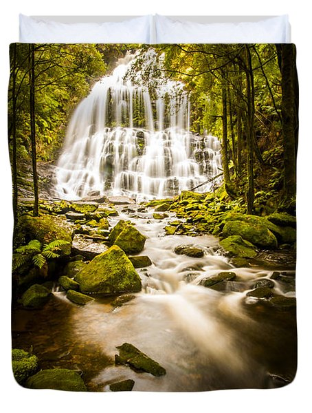 Nelson Falls Duvet Cover