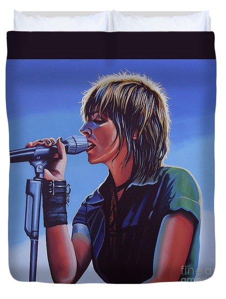Nena Painting Duvet Cover