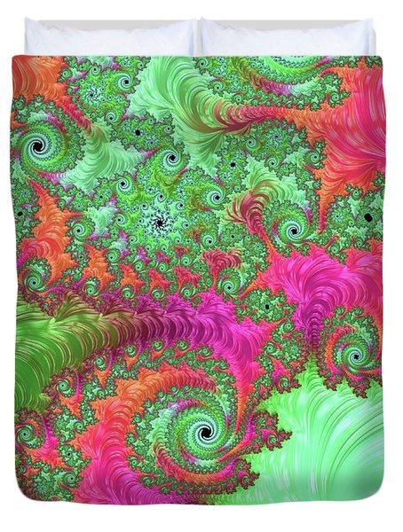Neon Dream Duvet Cover