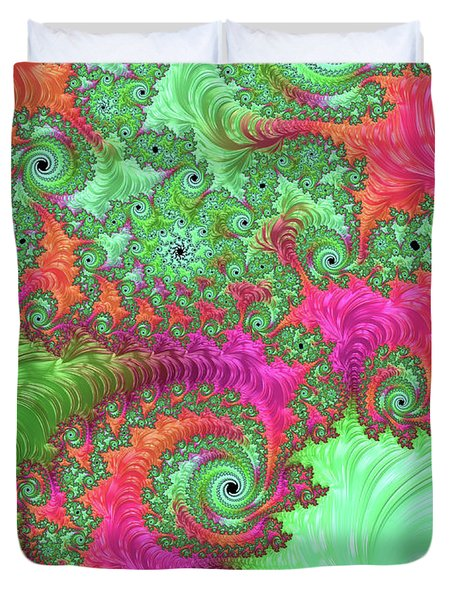 Neon Dream Duvet Cover