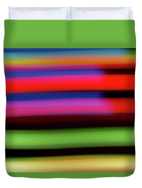 Neon Stripe Duvet Cover