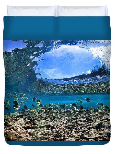 Neptunes Eye Duvet Cover